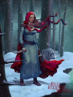 Red Riding Hood by godcreated00 on DeviantArt
