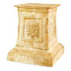 Pedestal, Statue, Tall Indoor Plants, Plant Stand With Wheels, Sculpture Stand, Sculpture Art, Concrete Sculpture, Outdoor Stools, Garden Urns