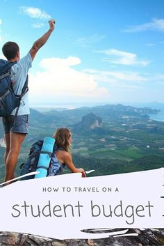 How to travel on a student budget. Top tips for travelling with no money!