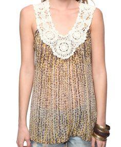 blusas customizadas com croche - Pesquisa Google