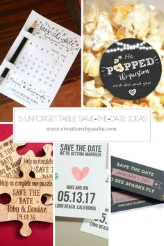 The save-the-date is