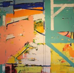 Abstract Painting 17, 2013, 36 x 36, acrylic on canvas joeykoromart.com