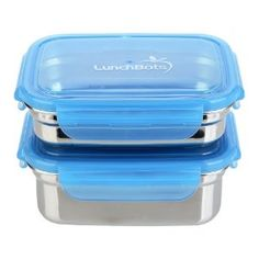 LunchBots Clicks Small Leak Proof Stainless Steel Food Containers are my favorite way to pack on the go snacks!