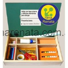 Caja de Arte - Madera ranarenata.com.ar