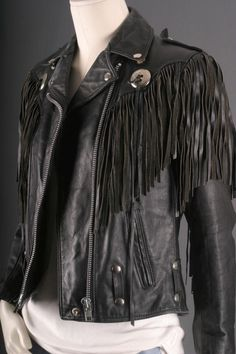 "Still have a jacket like this in my closet from the 80's.  I always referred to it as ""my Bon Jovi jacket"".  LOL"