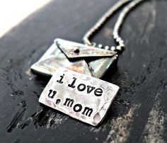 personalized hidden letter necklace
