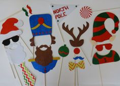 Reindeer Antlers Nose  Photo Booth Party Props by LUCIOUSMAXIMUS, $100.00
