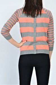 Love this striped sweater from The Jean Girl!