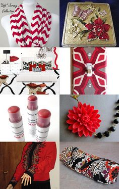 My yoga mat bag is featured here--Pinned with TreasuryPin.com