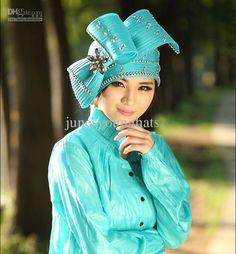 864b6cd942c Women Hats Derby Church Hats Formal Hat Millinery Chapeau Satin Ribbons Hat  Brooch Diamond Casing Satin