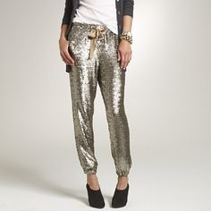 Sequin Harem Pants - OBSESSED - been dreaming of these every night