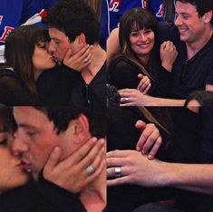 Promise rings ? What do you think ? #monchele #finchel #corymonteith #leamichele