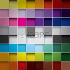 seamless blocks colour background Stock Vector