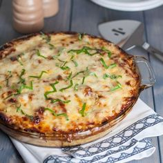 """If you love spaghetti squash pie, be sure to check out the newest NCK cheesy pie recipe… Cheddar sweet corn pie! Someone help me–I just can't stop with the comfort food makeovers! Maybe I should rename this blog """"comfort classic makeovers"""". Catchy. Did anyone else grow up with spaghetti pie? Because the Olson household wasall..."""