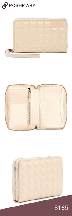 9e4637bf0261 Seashell Heart Patent Wingman Wristlet Wallet Perfectly petite patronage is  now possible with this stellar sidekick. Wall PocketsWristlet WalletMarc  Jacobs ...