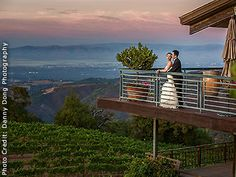 Thomas Fogarty Winery's stunning sunset view overlooking the Chardonnay Vineyard and the greater Bay Area. Photo by Danny Dong