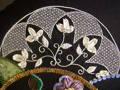 crazy quilting by Shirlee Fassell