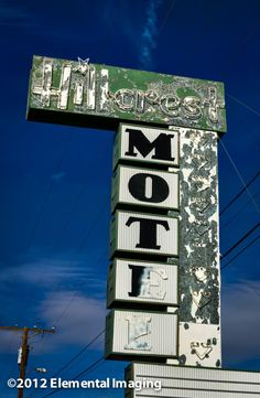 TheHillcrest Motel, Kingman Arizona, along old Route 66. Not sure of the status. No sign of life when we stopped by.