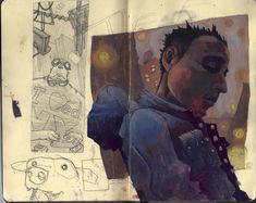 Untitled Moleskine page by jppeer.deviantart.com on @DeviantArt