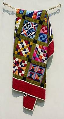 Wood Imistation of Fabric  Fraser Smith: quilts.de - quilts, patchwork and more
