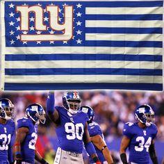 New York Giants Team Flag