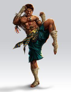 ArtStation - Muay thai Fighters, Saeed Jalabi Muay Boran, Muay Thai, Martial Artist, Judo, Karate, Jiu Jitsu, Character Art, Character Design, Thai Art