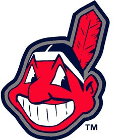 Cleveland Indians Alternate Logo - Chief Wahoo -- a red native american caricature wearing a single-feathered hand band. Used as the Indians primary logo for decades before being relegated as an alternate logo prior to 2014 season Cleveland Team, Cleveland Baseball, Cleveland Indians Baseball, Cleveland Rocks, Mario Testino, Turin, American League, Major League, Cool Logo