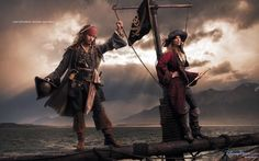 """Disney Dream Portraits by Annie Leibovitz - Johnny Depp as Captain Jack Sparrow and Patti Smith as Second Pirate in Command """".and adventures become legendary"""" Walt Disney, Disney Love, Disney Magic, Disney Art, Annie Leibovitz Photos, Annie Leibovitz Photography, Anne Leibovitz, Captain Jack Sparrow, Classic Disney Characters"""