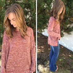 There's nothing better than the  p e r f e c t  sweater. Ready to layer with your sweaters this season, or just add a necklace and you're done! Sweater: Item 929BM5 $40