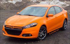 Orange Dodge Dart. WANT.