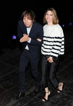 I'm not sure what's happening here with Sofia Coppola and Thomas Mars, but it's adorable.