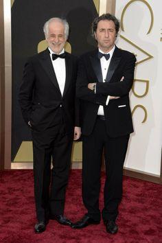 Paolo Sorrentino & Toni Servillo Oscar 2014