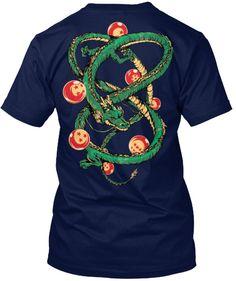Super Saiyan Short Sleeve Shirt - Shenron with balls - TS00119SS