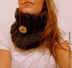 Scaldacollo all'uncinetto - Crochet neckwarmer.