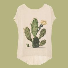 Cactusshirt - Rijksmuseum Amsterdam Inspired by: Pear Cactus in Bloom by Herman Saftleven, 1683
