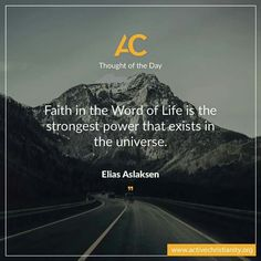 Think that we too can have this incredible power in our lives!