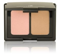 This is elf's Blush and Bronzer duo, which looks like a dupe of Nars Orgasm/Laguna. I really like it, the bronzer isn't too intense and the blush is really pretty.