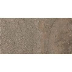 Style Selections�Kili Rust Thru Body Porcelain Floor Tile (Common: 8-in x 16-in; Actual: 7.87-in x 15.75-in)