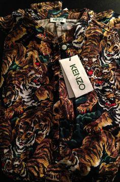 Kenzo's Tiger Prints are cool!  #fashion