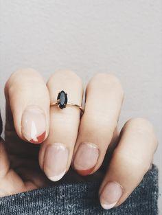 @bingbangnyc 'Tiny Marquis Ring'.