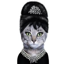 I'm having an Audrey party too, Trac! Just with a little different twist than yours...