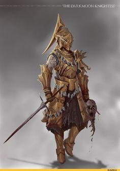Dark Souls,фэндомы,DS art,Darkmoon Knightess