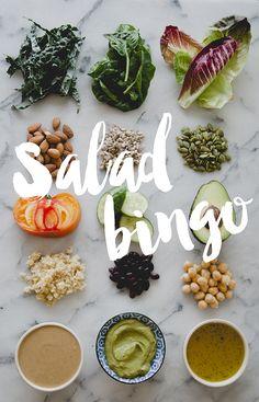 SALAD BINGO // The Kitchy Kitchen