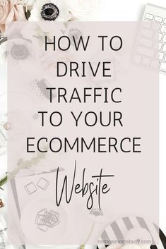 How To Drive Traffic To Your Ecommerce Website - Shopify Online Store - Start your shopify store with 14 days free trial. - How to drive traffic to your ecommerce website. E Commerce Business, Business Tips, Online Business, Drop Shipping Business, Ecommerce Store, Ecommerce Solutions, Online Marketing, Affiliate Marketing, Media Marketing