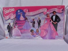 Barbie Enchanted Ball Game - The Game of Dates, Dances and Dreams Barbie Games, Barbie Dolls, Enchanted, Dates, 3 D, Dreams, Barbie Party Games, Date, Barbie Doll