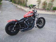 Hellboy Biker 883r Orange Bobber