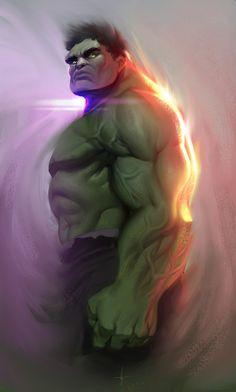 #Hulk #Fan #Art. (Hulk - Colors) By: Jessie Justine De Leon. ÅWESOMENESS!!!™ ÅÅÅ+