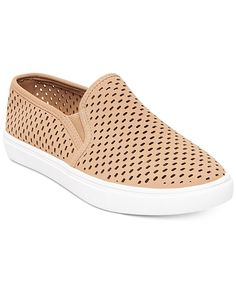 Steve Madden Women's Elouise Perforated Slide-On Sneakers