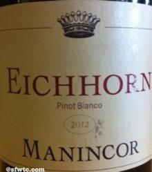 2012 Manincor - Pinot Bianco