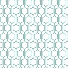 A contemporary wall covering with classical inspiration, the York Wallcoverings Bistro 750 Trellis Wallpaper features an eye-catching lattice of. Trellis Wallpaper, Old Wallpaper, Geometric Wallpaper, Pattern Wallpaper, Nursery Wallpaper, Wallpaper Manufacturers, Prepasted Wallpaper, Shops, Design Repeats